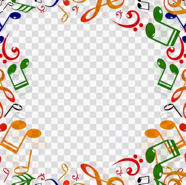 marco con elementos musicales descargar vectores gratis musical notes clip art images musical notes clipart