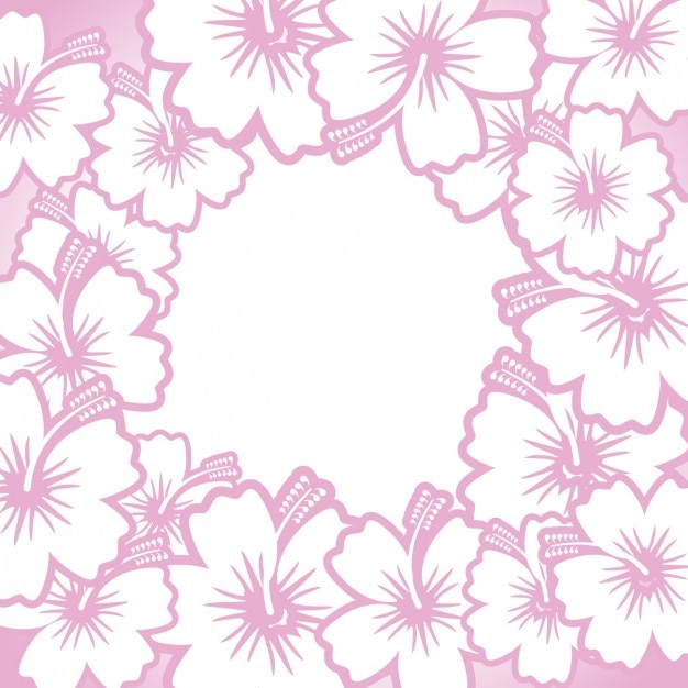 Marco de flores dibujados a mano | Descargar Vectores gratis