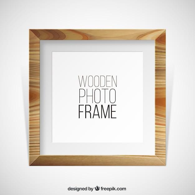 Marco de fotos de madera descargar vectores gratis - Marcos de fotos madera ...