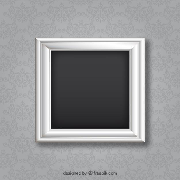 Marco de plata | Descargar Vectores gratis