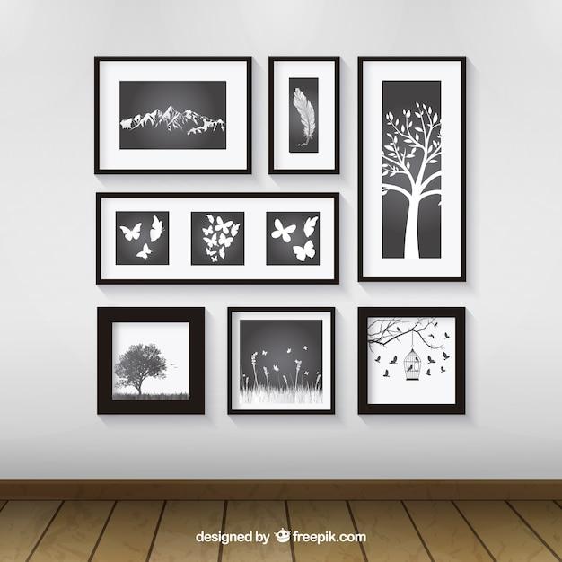 Marcos de fotos | Descargar Vectores gratis