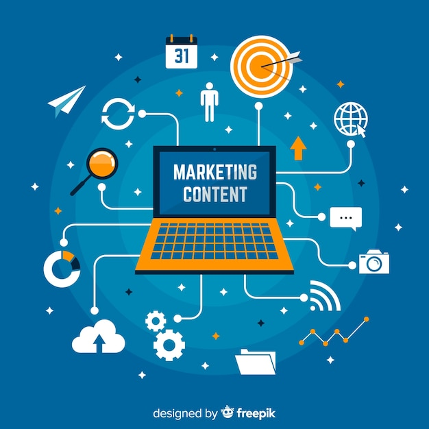 Marketing vector gratuito