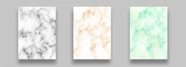Mármol abstracto color diferente fondo de textura de pintura Vector Premium