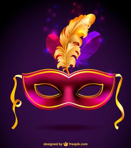 M scara de carnaval gratis descargar vectores gratis - Mascaras para carnaval ...