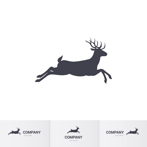 Mascota de los ciervos Vector Premium