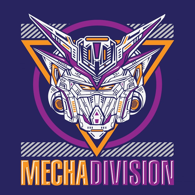 Mecha robot division Vector Premium
