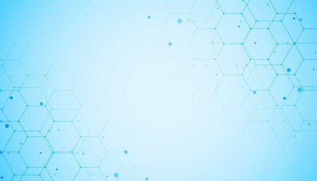 Médico y sanitario en color azul. vector gratuito
