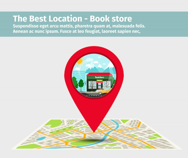 La mejor librería de localización. Vector Premium
