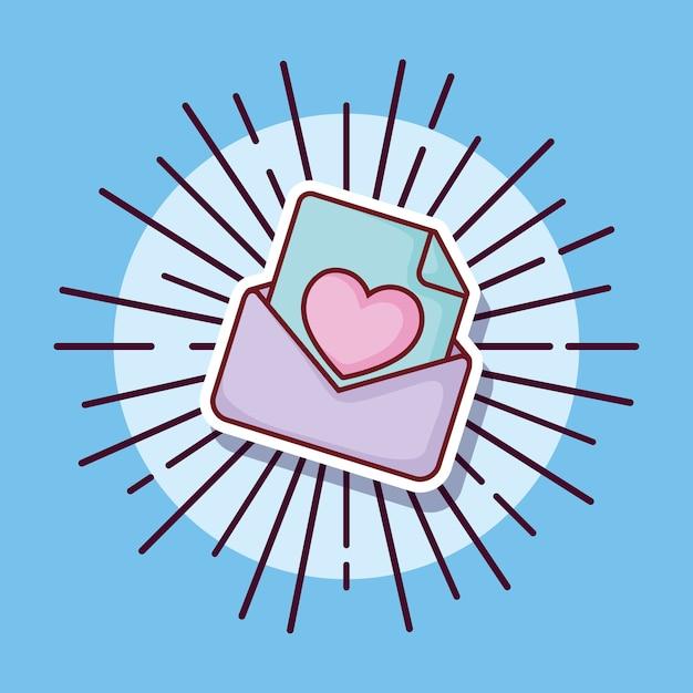 Mensaje De Amor Letra Estilo De Dibujos Animados Descargar