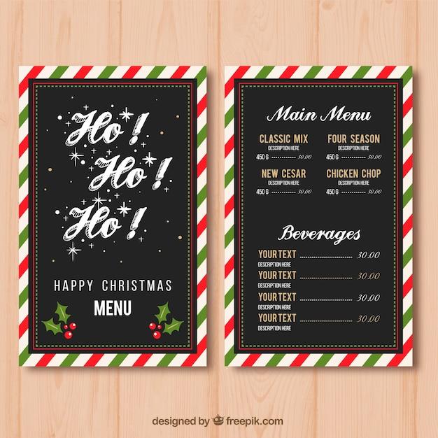 Menu Para Cena De Navidad. Simple With Menu Para Cena De Navidad ...