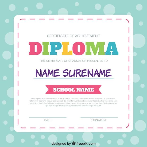 modelo de diploma