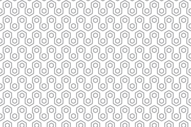 Modelo inconsútil geométrico moderno vector gratuito