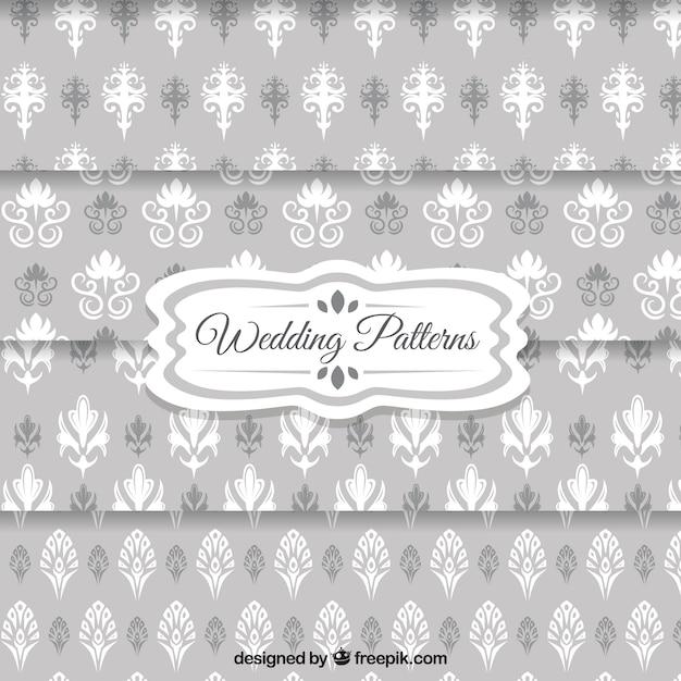 Modelos del papel pintado de la boda de color gris - Modelos de papel pintado ...