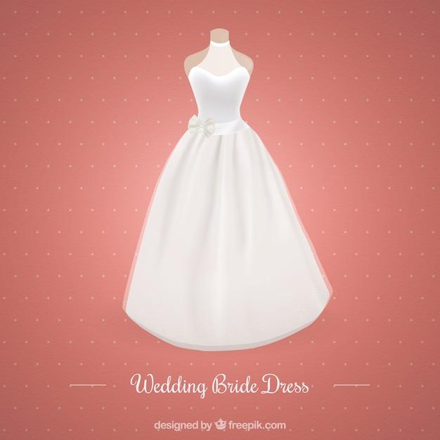 Moderno vestido de novia | Descargar Vectores gratis