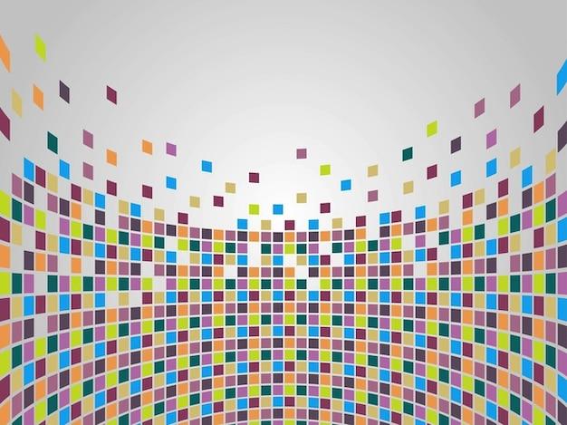 Mosaico de figuras geom tricas de colores descargar vectores gratis - Mosaico de colores ...