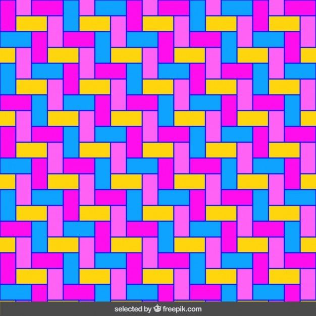 mosaico homogéneo fluor de rectángulos descargar vectores gratis