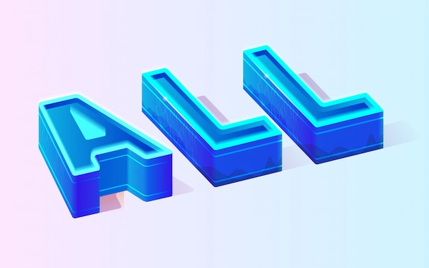 Motivación abstracta texto todas las plantillas neon vector gratuito