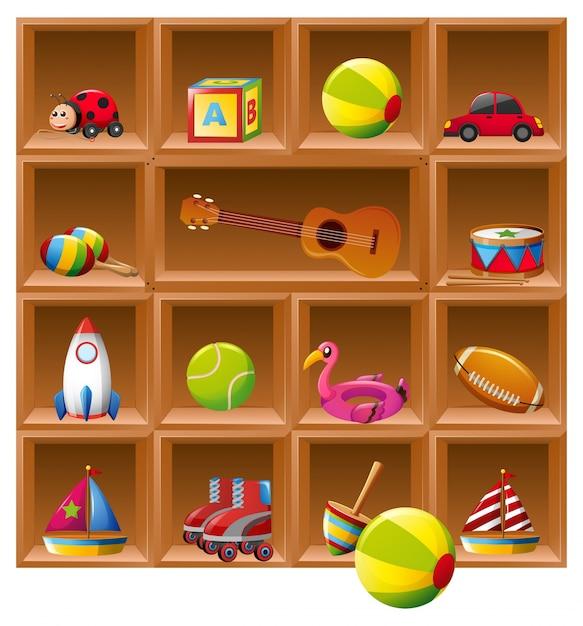 Fondos de mariquitas fotos y vectores gratis - Estantes para juguetes ...