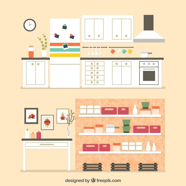 Muebles de casa descargar vectores gratis for Muebles de casa