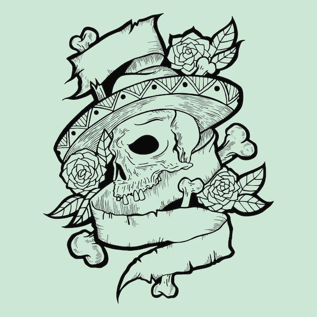 Muestra tatto Vector Premium