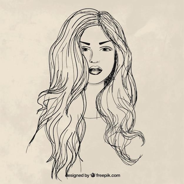 Chicas sexy de pelo largo