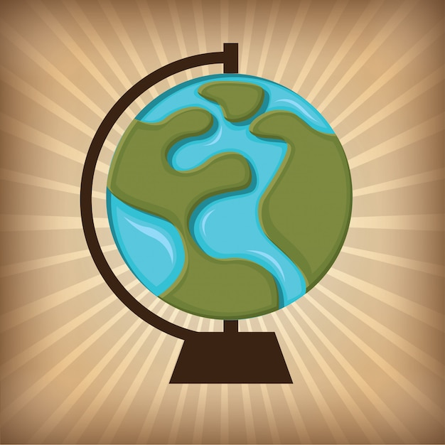 Mundo vector gratuito