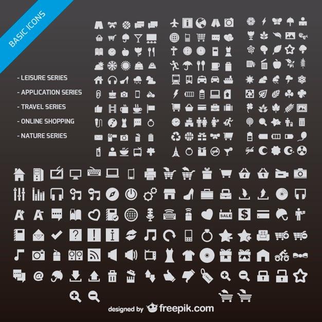 N número de diseño web icono vector material de pequeña vector gratuito