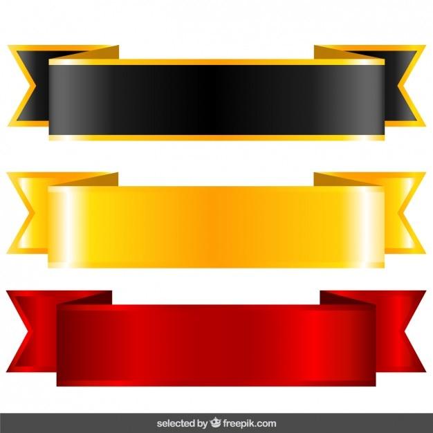 negro  oro y rojo etiquetas descargar vectores gratis red ribbon vector hd red ribbon bow vector free