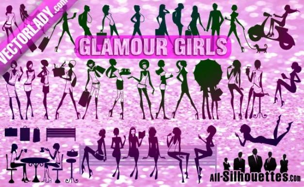 Chica glamour gratis