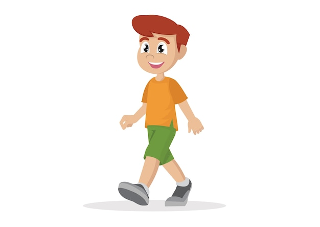Dibujos Animados Personas Caminando