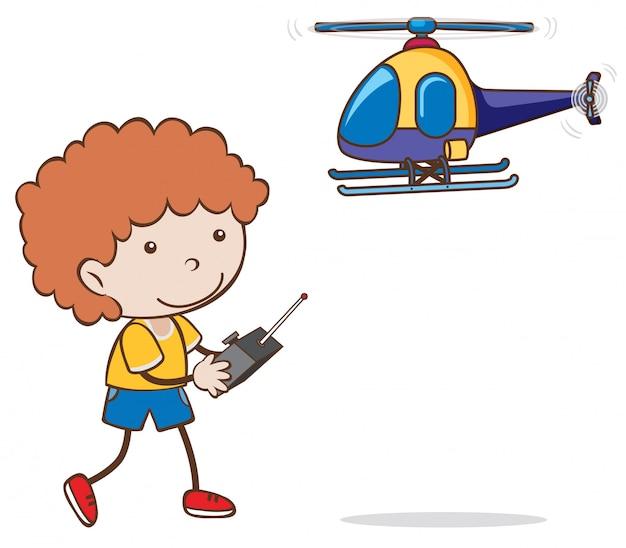 Jugando HelicópteroDescargar Vectores De Un Premium Niño Juguete yb7fvY6g