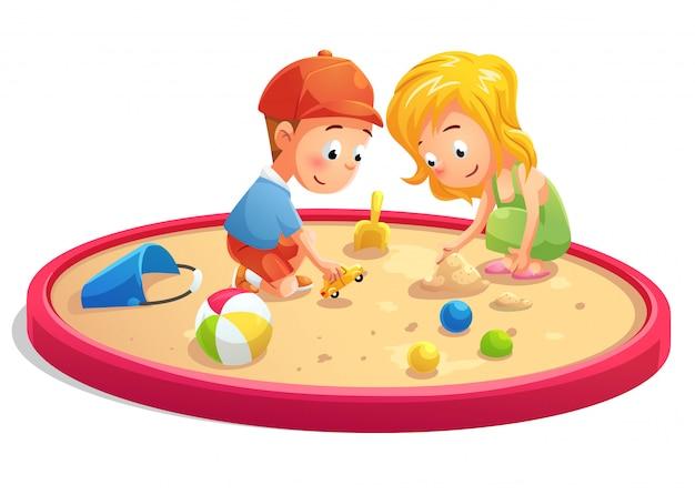 ninos animados jugando
