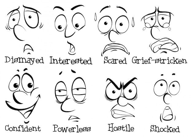 Identifican las emociones de 21 expresiones faciales - ABC