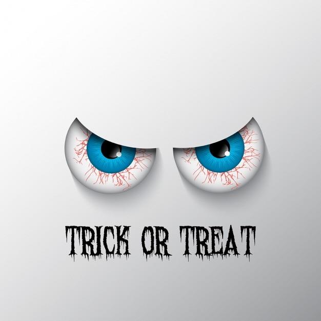 ojos para halloween descargar vectores gratis