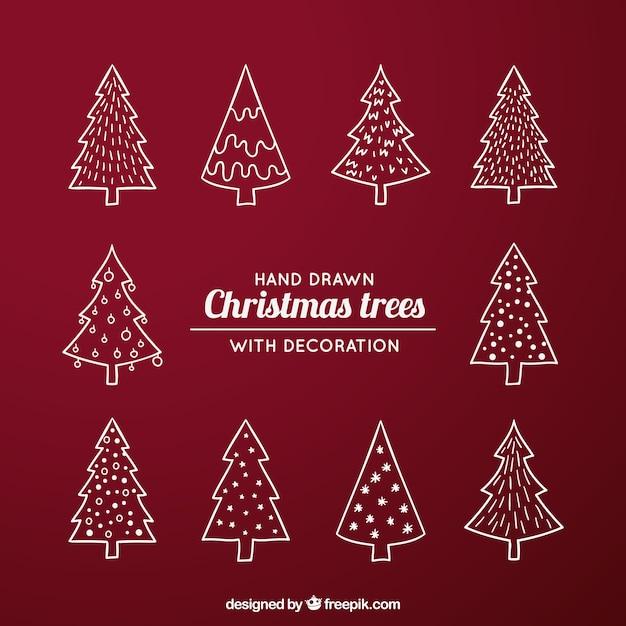 Pack con diferentes tipos de rboles de navidad - Arboles de navidad diferentes ...