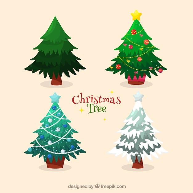 Pack de decorativos rboles de navidad descargar - Decorativos de navidad ...