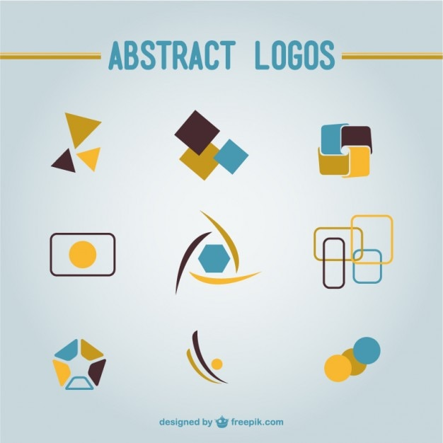 Pack De Logotipos Abstractos