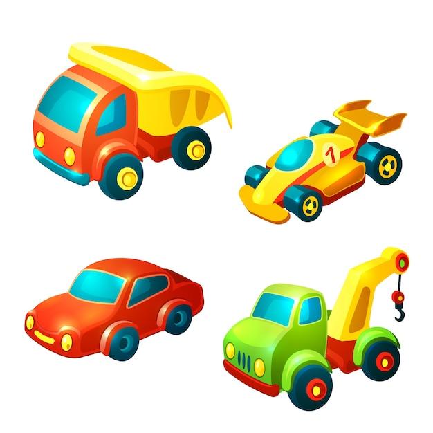 Pack Vectores Premium Vehículos De JuguetesDescargar yIYb67fgv