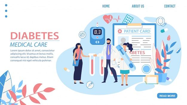 página de inicio de diabetes