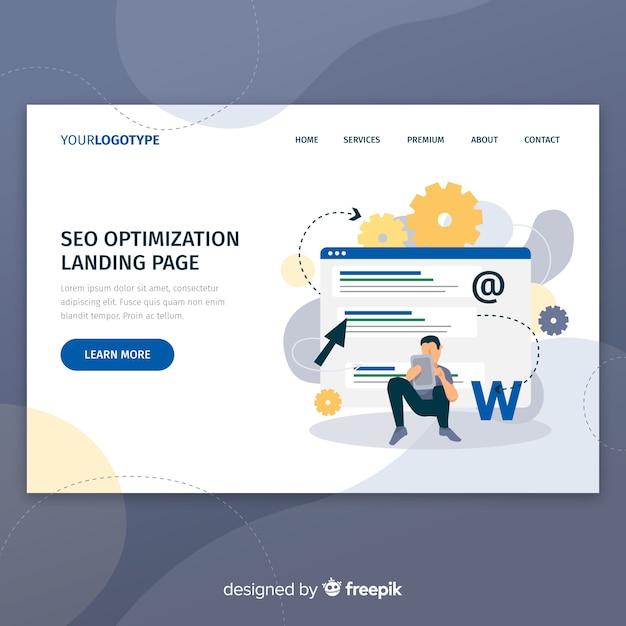 Página web de optimización vector gratuito