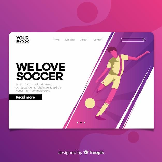Página web vector gratuito