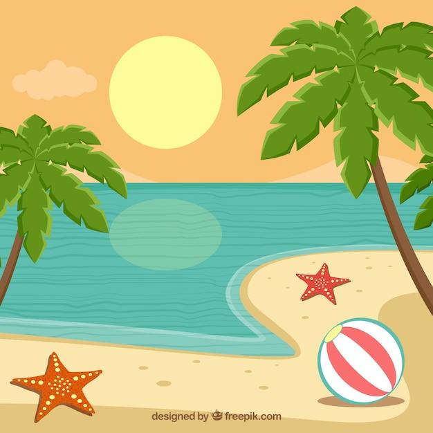 Playas Hermosas Animadas Imagui Newwallpaperjdico