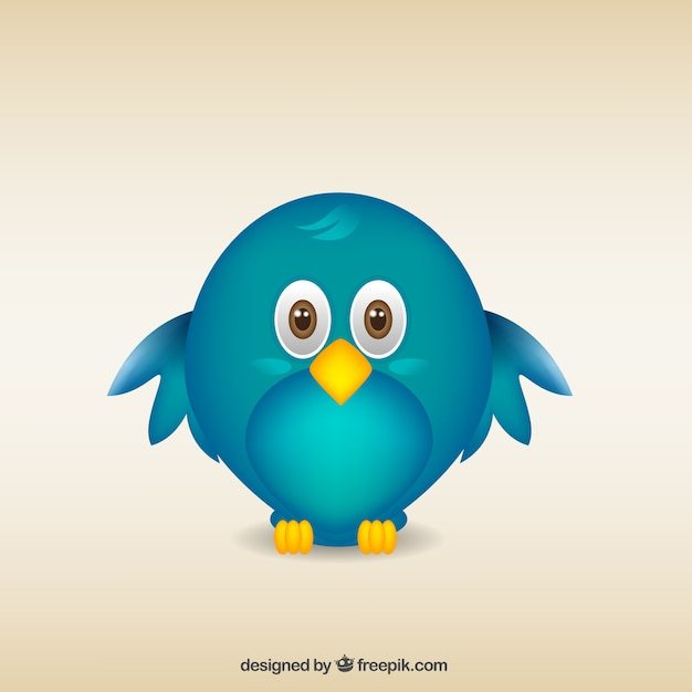 Pájaro De Dibujos Animados Descargar Vectores Gratis