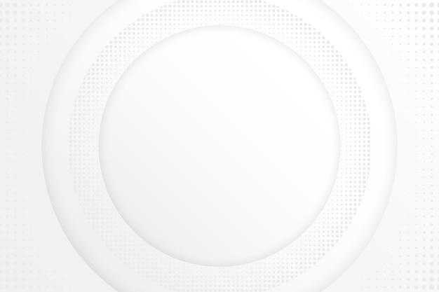 Papel pintado blanco abstracto vector gratuito