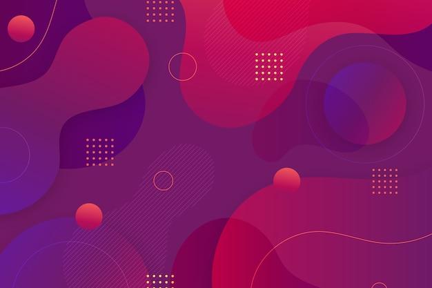 Papel pintado decorativo abstracto vector gratuito