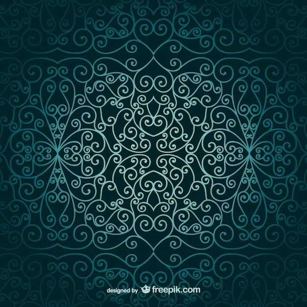Arabic Book Cover Design Vector : Papel pintado ornamental árabe descargar vectores gratis