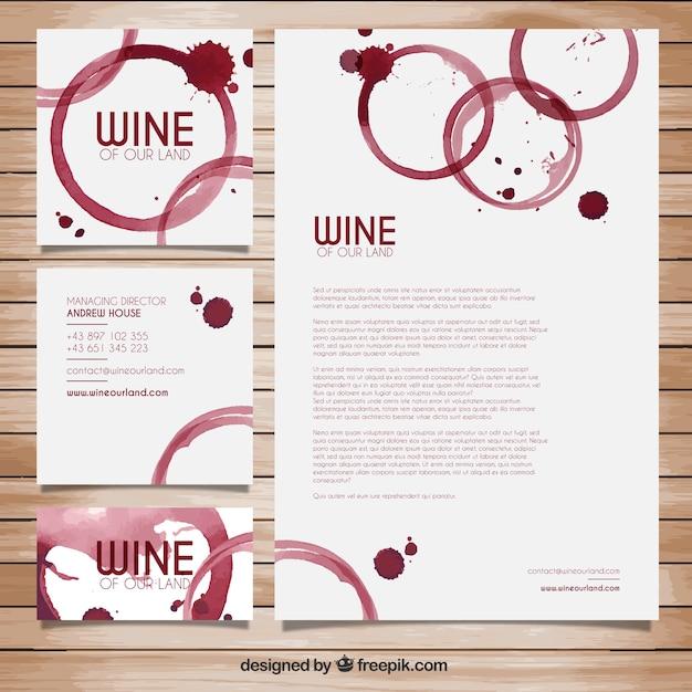 Papeler a de manchas de vino descargar vectores gratis - Manchas de vino ...