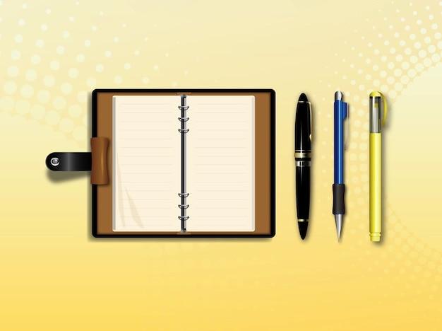 Papeler a y material de oficina de vectores descargar for Suministros de papeleria para oficina