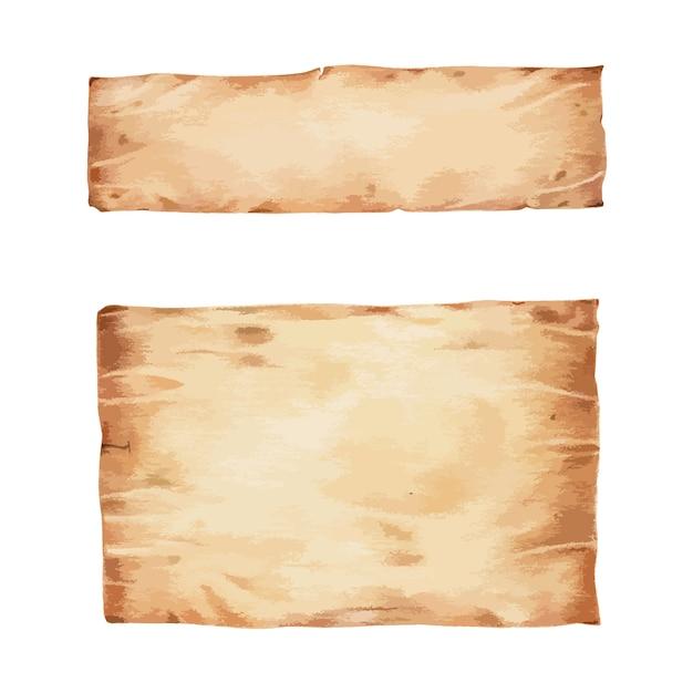 Papiro vector gratuito