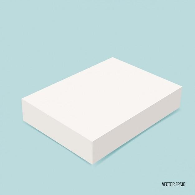 Paquete rectangular vector gratuito